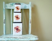 INVENTORY SALE...Vintage Floral Baking Container Set of 3