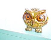 Vintage Ceramic Owl 2 Part...SALE
