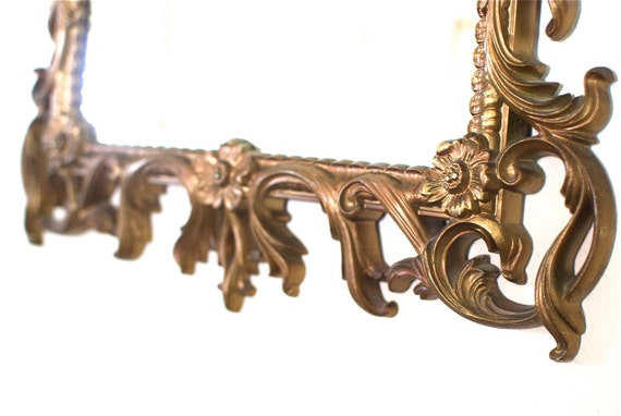 Vintage Victorian Boudoir Ornate Mirror A Turner Wall