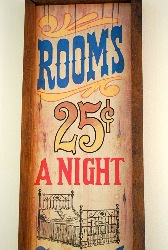 Antique Hotel Signage