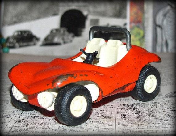 vintage metal tonka car, dune buggie, circa 1960's