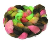 Funkier than a mosquitos tweeta - hand dyed Superwash BFL roving