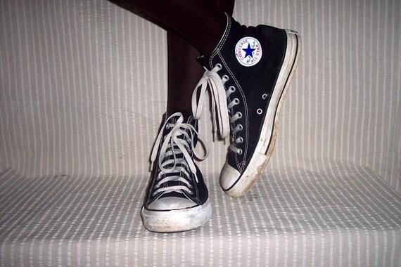 Vintage CHUCK TAYLOR Hi Top CONVERSE Shoes Mens 9 Womens 10 1/2