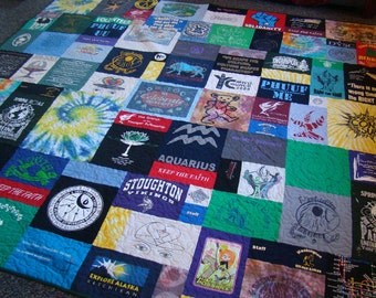 Custom T-shirt Quilt - King - No Money Down