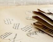 Recycled romance novel  confetti x 20