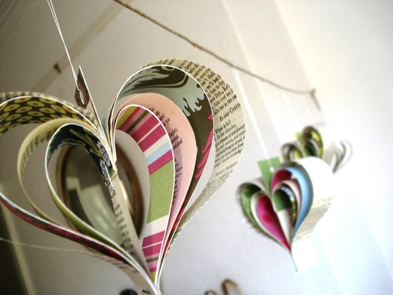 Paper hearts x 20 listing for Penina