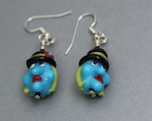 Earrings - Witches on Halloween - SALE