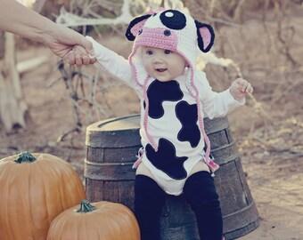 Cow Belle RuffleBum Halloween Costume