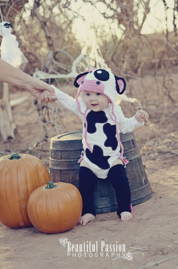 Cow Belle RuffleBum Halloween Costume
