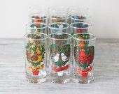 12 days of Christmas glassware
