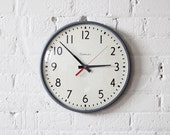 school wall clock - classroom - simplex - industrial decor