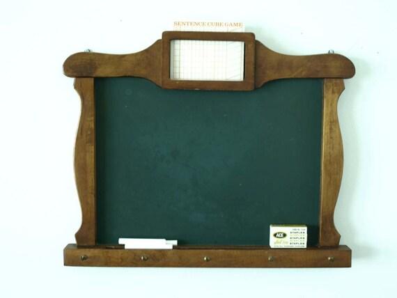 vintage framed chalkboard