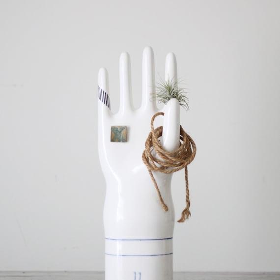 1960 large industrial porcelain glove mold
