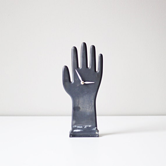 Vintage Clock Hand Glove Mold / Hruskaa Orginal Design