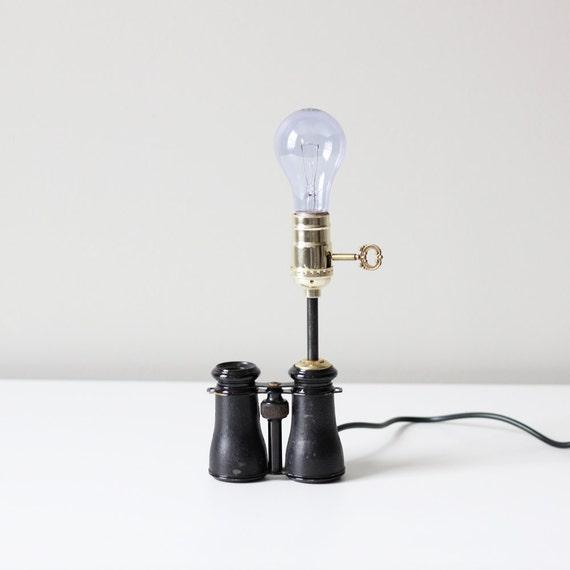 RESERVED vintage opera binocular lamp no. 3