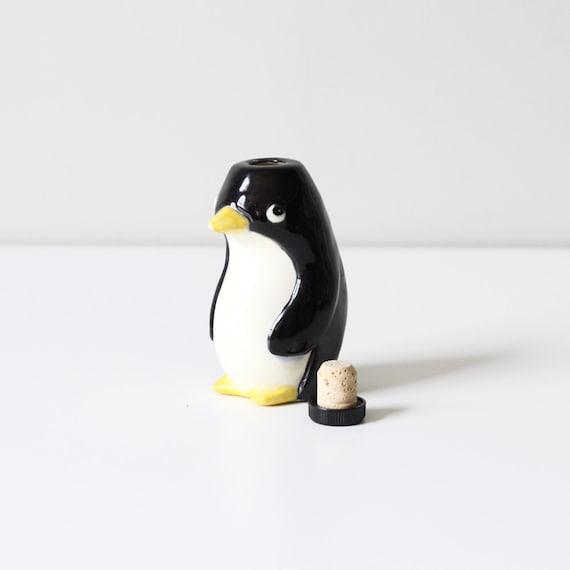 vintage penguin figurine