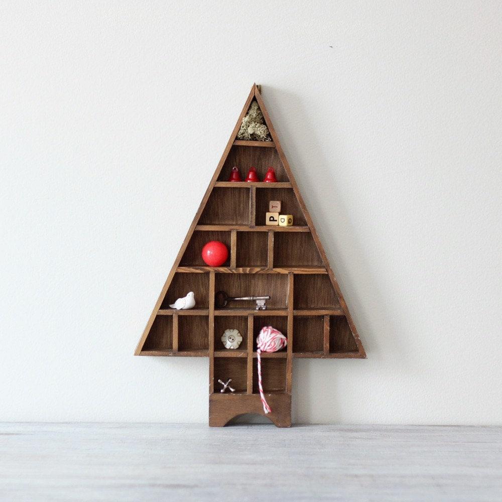 Holiday Tree Shadow Box By Hruskaa On Etsy