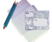 Write, Fold, Mail Stationery Set