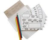 Turtle Write Fold Mail Stationery