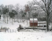 Photography-Snow storm in Nicholasville Ky