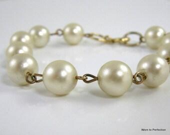 Costume Pearl Bracelet