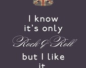 Only Rock and Roll - Poster