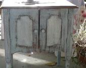Quaint Farmhouse Cabinet