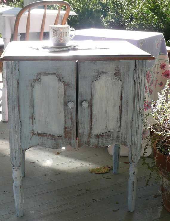 Quaint Farmhouse Cabinet