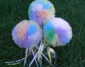 Pastel Princess Poof Wand--- Birthdays, Costume Parties, Dress Up