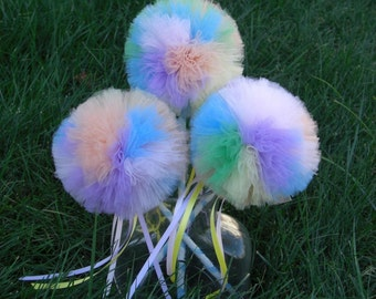 Pastel Princess Poof Wand--- Birthdays, Costume Parties, Dress Up