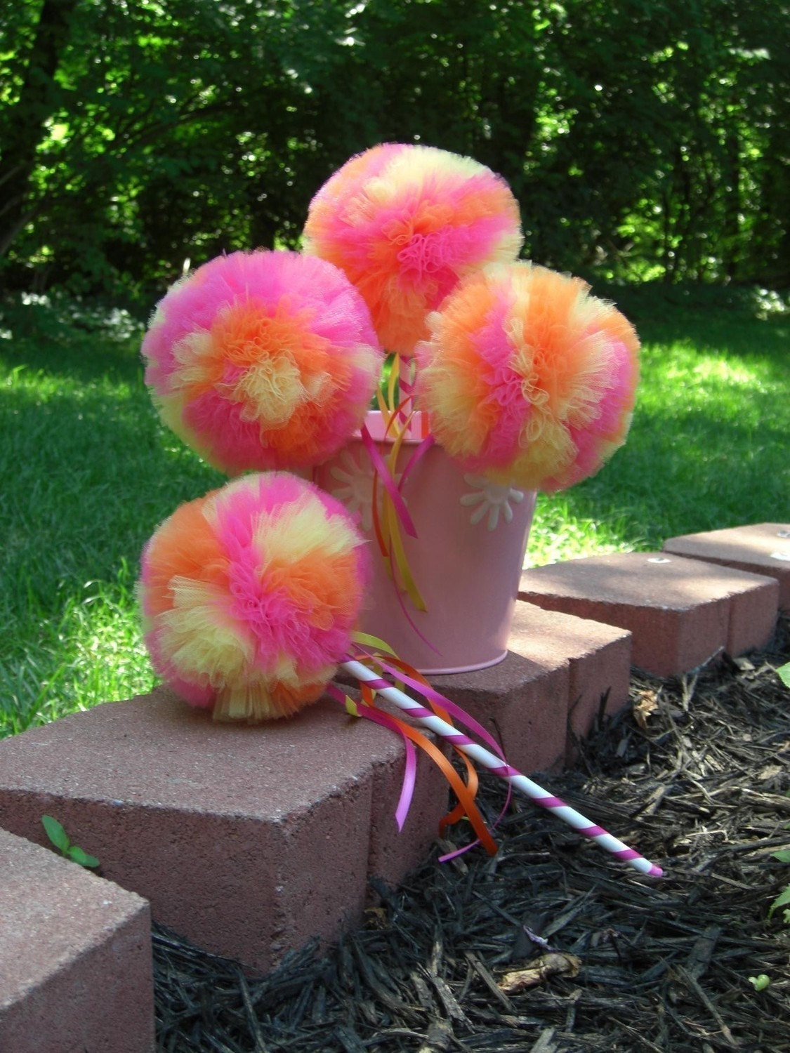 Tropical punch poof wand birthday parties dress up party for Birthday wand
