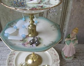 Etherial Spring Wind......... OOAK jewelry stand