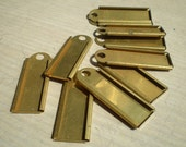 Vintage Brass Hang Tags