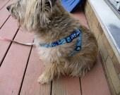 Retro Batik Step in Harness For Dogs