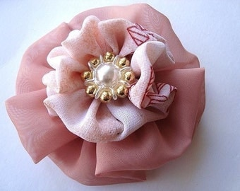 FF24... PDF TUTORIAL -  Millinery Flower - No sewing machine required - Instant Download