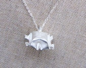 Origami Wise Tortoise Necklace