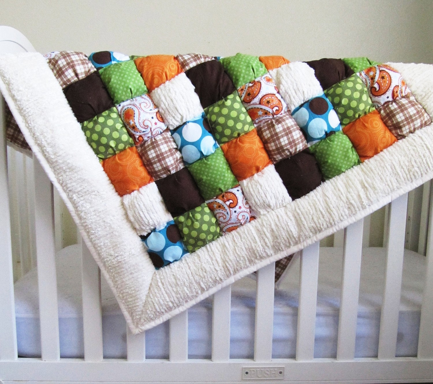 Free Pattern For Baby Puff Quilt : How to Make a Puff Quilt Pattern PDF File