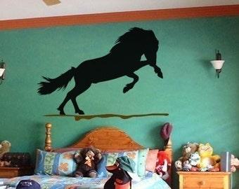 Horse decal-horse sticker-Icelandic horse-horse vinyl wall decor-28 X 40 inch horse