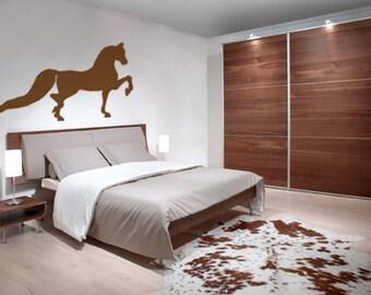 Horse decal-horse sticker-morgan horse-horse vinyl wall decor-28 X 15 inches