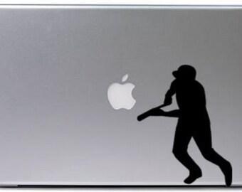 Baseball-Vinyl wall decal-Baseball sticker-baseball decal-5 X 8 inches