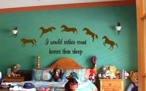 Cute Horse Quotes: Vinyl Wall Art DecalCute Horse QuoteFree Shipping