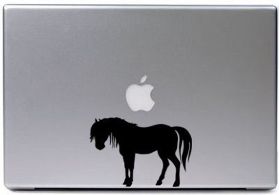 Horse decal-laptop-pony-sticker-free shipping within the U.S.
