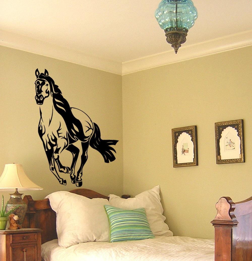 Horse Decal Mustang Horse Sticker Horse Vinyl Wall Decor Big