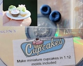 Cupcake dvd with molds included for 1/12 scale