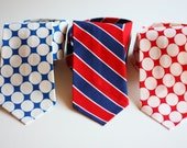 SALE- The Beau- men's Americana collection neckties- choose your favorite print