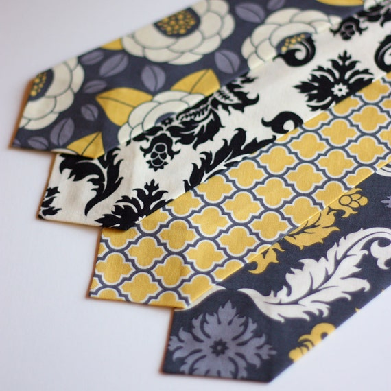 The Beau- aviary in granite collection neckties for boys of all ages