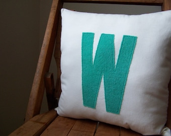 Personalized Initial Pillows