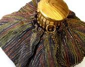 Vintage Accordian Purse Vintage Cloth Bag