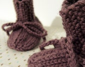 RESERVED for ABBY - Sweetmilk Babyshoes : Juniper (M)