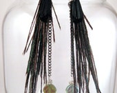Princess of the Paradise Feather Earrings